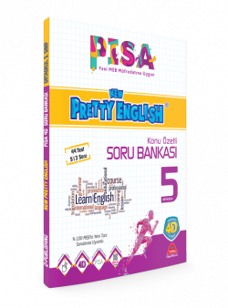 PİSA 4D NEW PRETTY ENGLISH TEST BOOK-5. GRADE