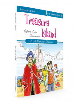 TREASURE ISLAND (CLASSİCS İN ENGLİSH SERİES-6)