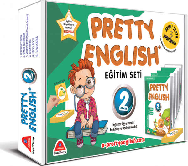 PRETTY ENGLİSH EĞİTİM SETİ-2. SINIF