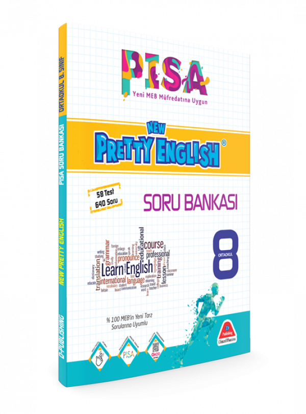 PİSA 4D NEW PRETTY ENGLISH SORU BANKASI-8. SINIF