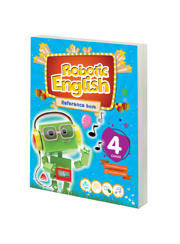 ROBOTIC ENGLISH REFERENCE BOOK-4. GRADE